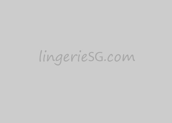 Red Lace Hem Long Sleeve Plus Size Dress