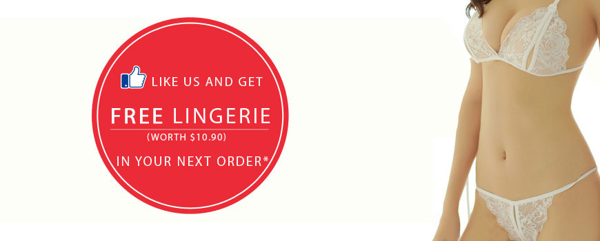 Like Us or Share Our Post and Get a FREE Lingerie in your next order!